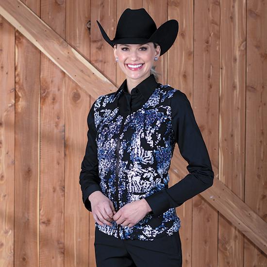Women's Western Show Tops & Vests