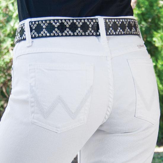 Wrangler URJ Q-Baby Dyeable White Jeans