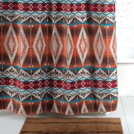 Mojave Sunset Shower Curtain