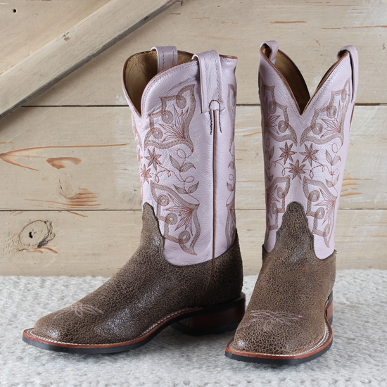 Tony Lama Crackled Camel Boots