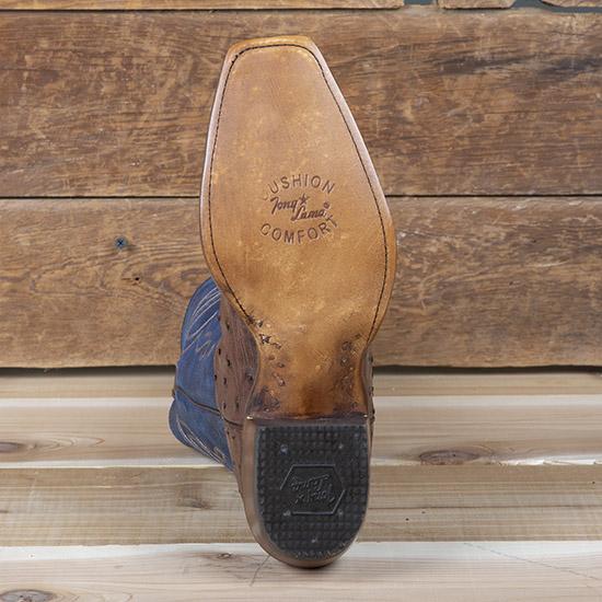 b3ff027ece1 Tony Lama Kosse Full Quill Round Toe Boots