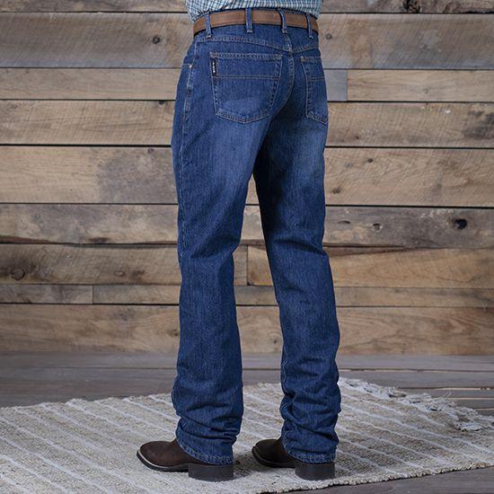 Cinch Black Label Dark Stone Wash Jeans