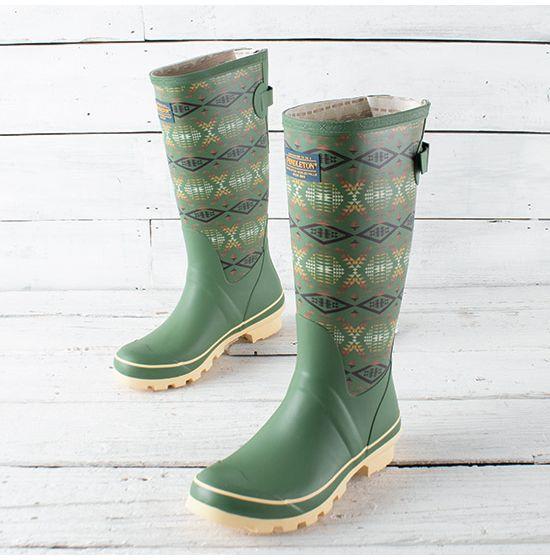 Pendleton Diamond River Tall Boots