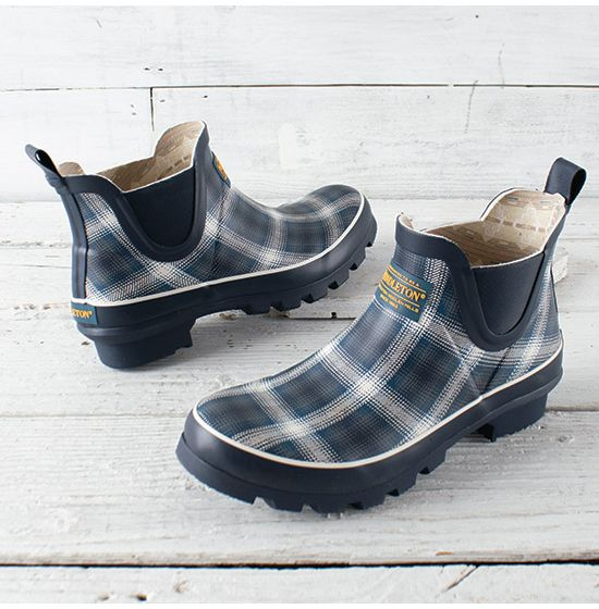 Pendleton Window Ombre Chelsea Boots