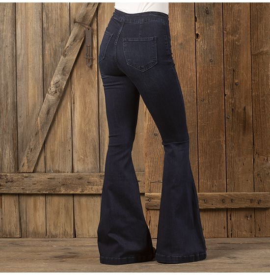 Kancan Super High Rise Flare Jeans