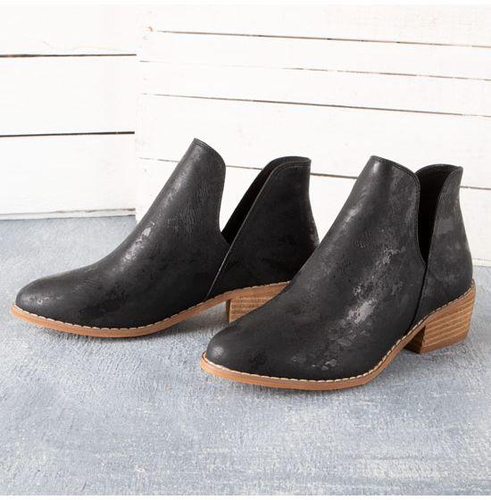 Corkys Black Wayland Booties