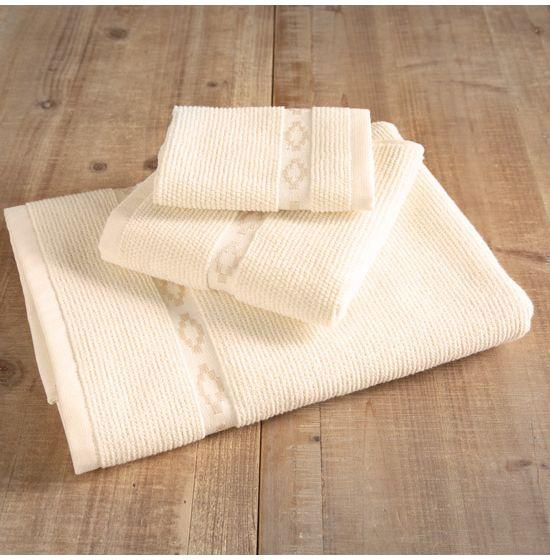 Grand Teton Antique White Towels