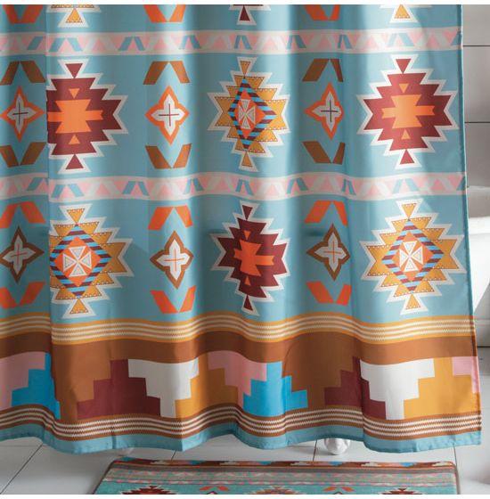Santa Fe Sun Shower Curtain
