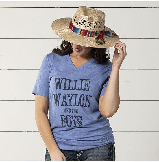 Willie, Waylon & The Boys Tee Shirt