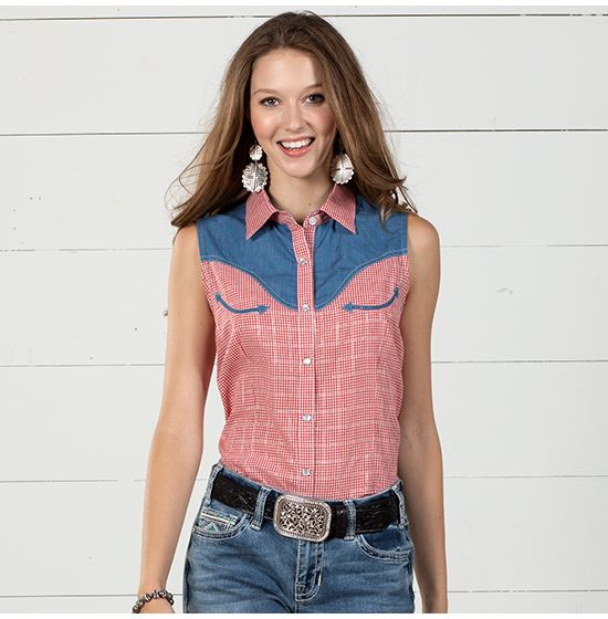 Panhandle Western Dolly Top
