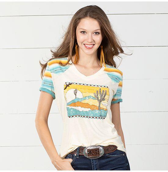 Panhandle Southwest Sunset T Shirt