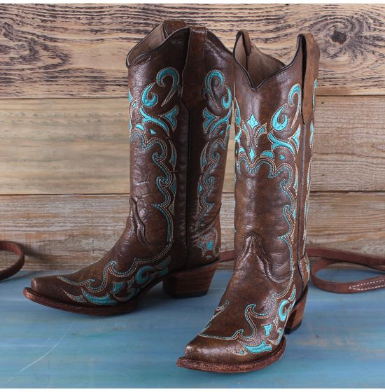 Corral Circle G Turquoise Boots